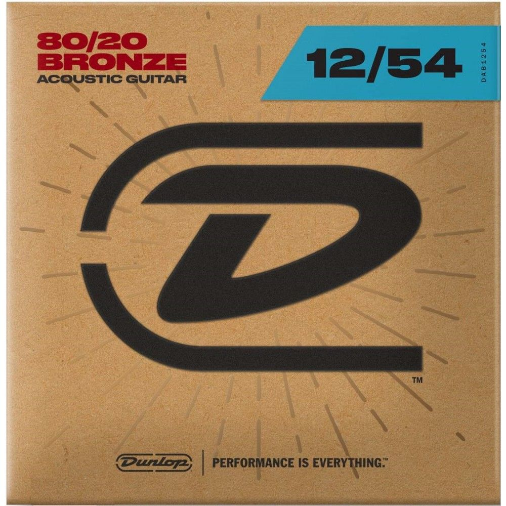 Dunlop DAB1254 - Corzi Chitara Acustica 12-54 Dunlop - 1