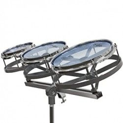 PP Drums Rototom Kit w/stand - Set rototom PP Drums - 3