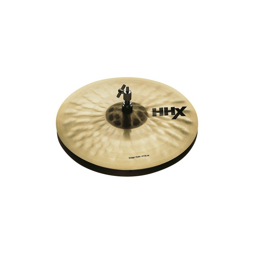 "Sabian 14"" HHX Stage Hats - Capace Fus Sabian - 1"