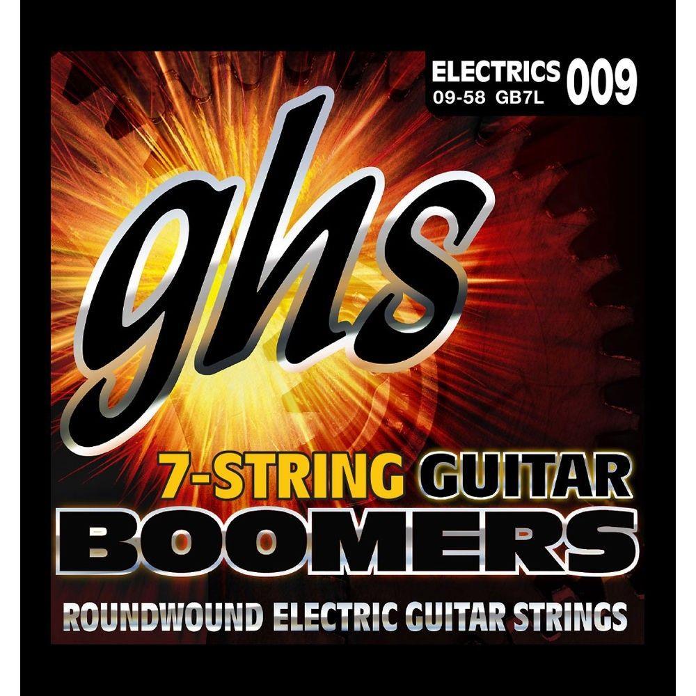 GHS GB7L - Set 7 Corzi Chitara Electrica 09-58 GHS - 1