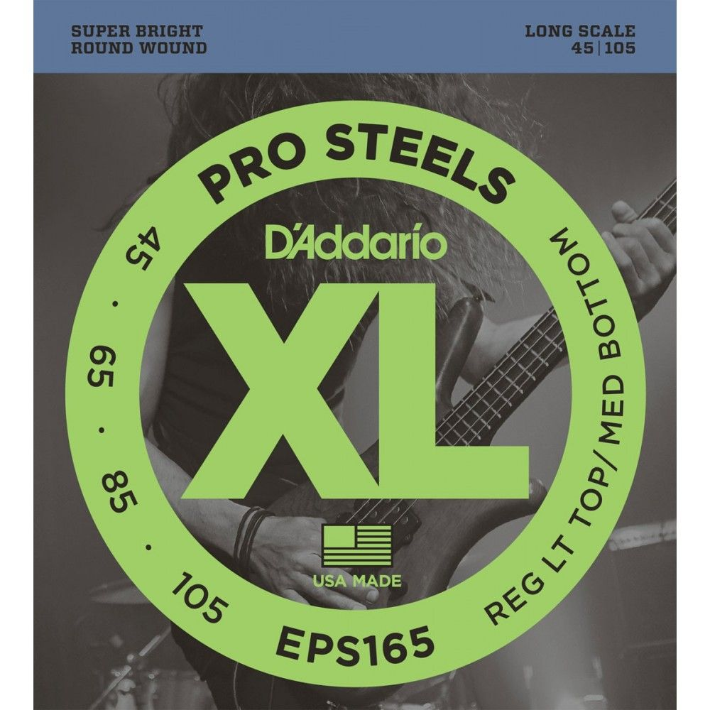 D'Addario EPS165 ProSteels...