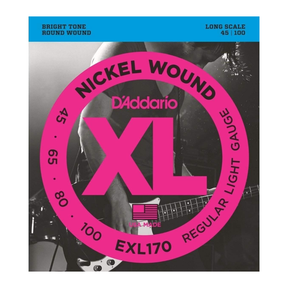 D'Addario EXL170 Long Scale...