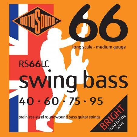 Rotosound Swing Bass LC - Set Corzi Chitara Bass 40-95 Rotosound - 1