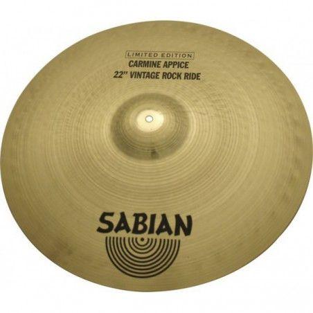 "Sabian 22"" HH Vintage Rock Ride - Cinel. Sabian - 1"