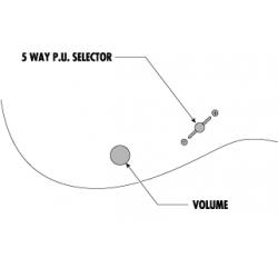 Ibanez PGMM31-WH miKro Paul Gilbert - Chitara Electrica Dimensiune Redusa Ibanez - 7