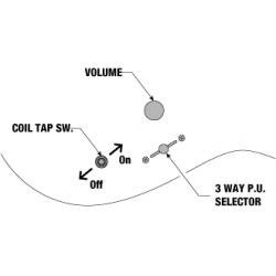 Ibanez PWM10 Paul Waggoner - Chitara Electrica Ibanez - 5
