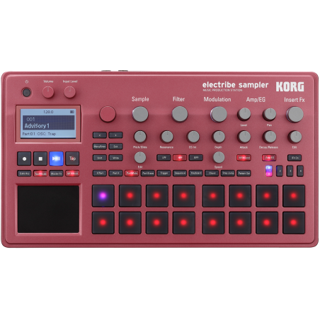 Korg Electribe 2S Red -...
