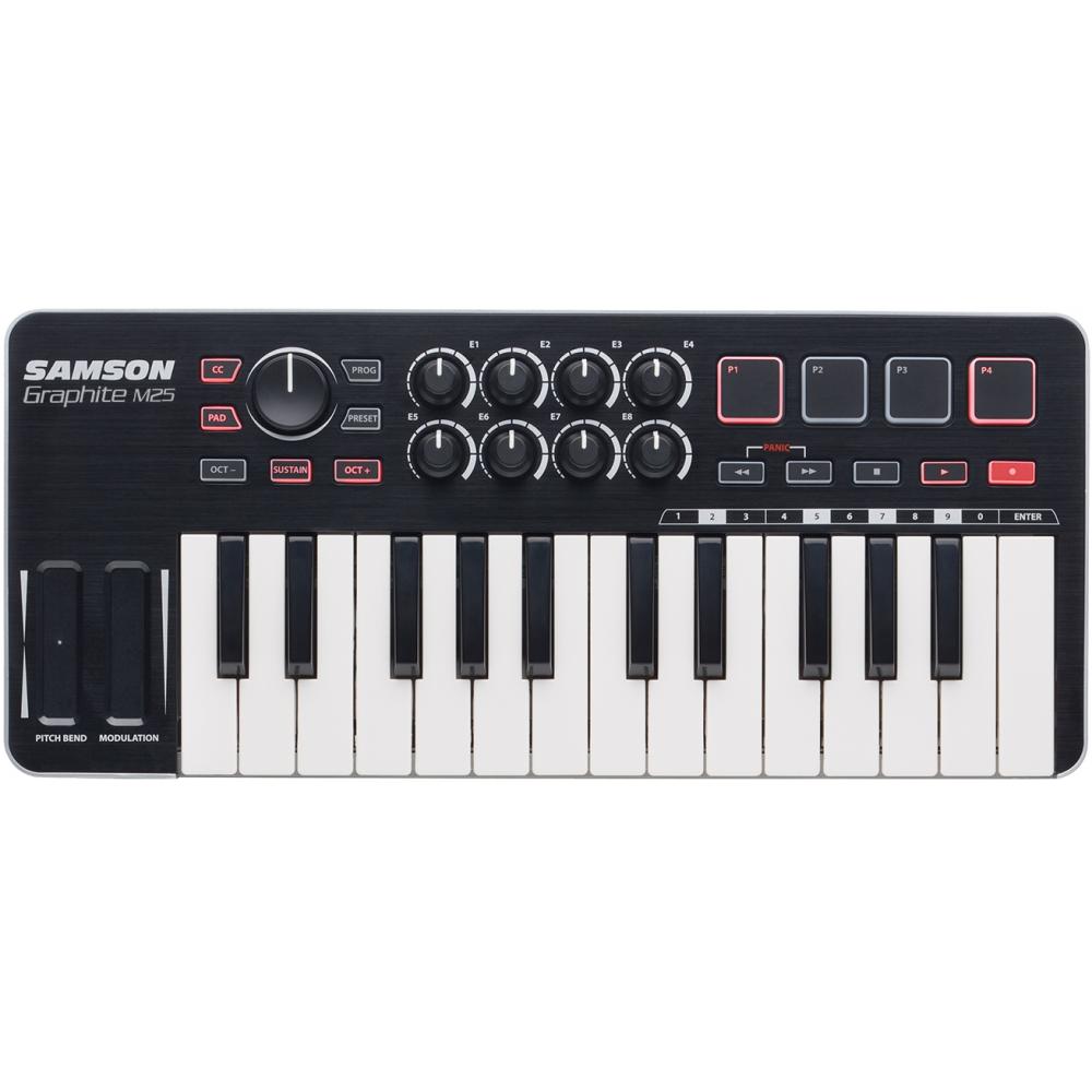 Samson Graphite M25 - Controller MIDI Samson - 1