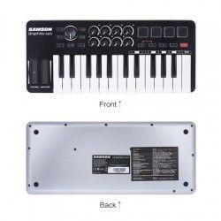 Samson Graphite M25 - Controller MIDI Samson - 4