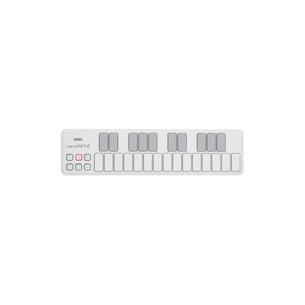 Korg NanoKey 2 White - Claviatură MIDI Korg - 1