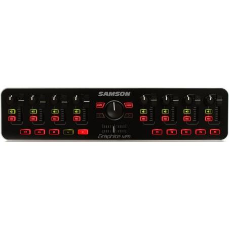 Samson Graphite MF8 - Controller MIDI Samson - 1