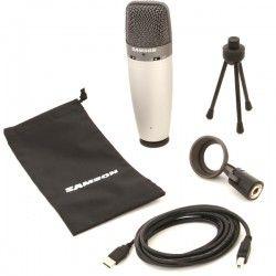 Samson C03U - Microfon cu interfata audio USB Samson - 2
