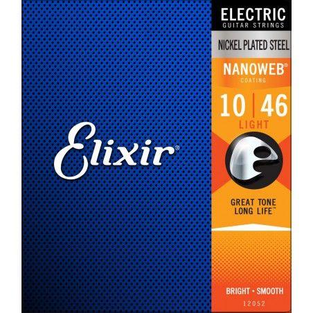 Elixir Nanoweb 10-46 - Set Corzi Chitara Electrica Elixir - 1