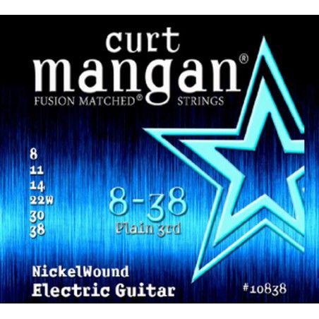 Curt Mangan Nickel Wound 8-38 - Set Corzi Chitara Electrica Curt Mangan - 1