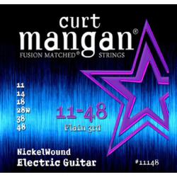 Curt Mangan Nickel Wound 11-48 - Set Corzi Chitara Electrica Curt Mangan - 1