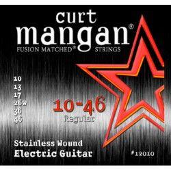 Curt Mangan Stainless 10-46 - Set Corzi Chitara Electrica Curt Mangan - 1