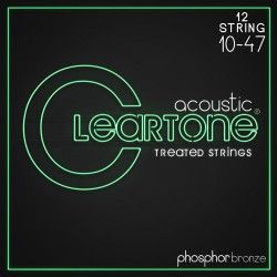 Cleartone Acoustic 12-String 10-47 - Set Corzi Chitara Acustica Cleartone - 1