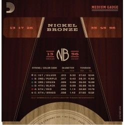 D'Addario NB1356 - Set...