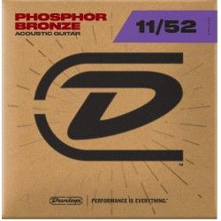 Dunlop DAP1152 Phosphor Bronze - Corzi Chitara 11-52 Dunlop - 1
