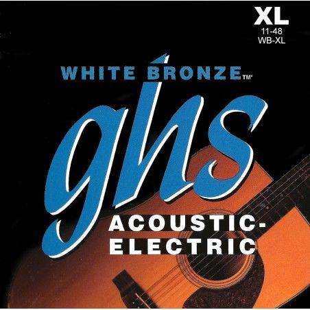 GHS WB-XL - Set Corzi Chitara Electro-Acustica 11-48 GHS - 1