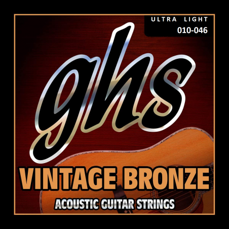 GHS VN-UL - Set Corzi Chitara Acustica 10-46 GHS - 1