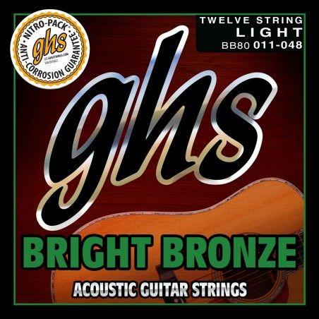 GHS BB80 12 String - Set 12 corzi chitara acustica 11-48 GHS - 1