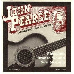 John Pearse Phosphor Bronze 710NM  - Set Corzi Chitara Acustica 13-55 John Pearse - 1
