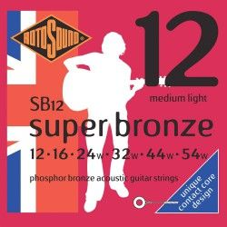 Rotosound Super Bronze SB12...