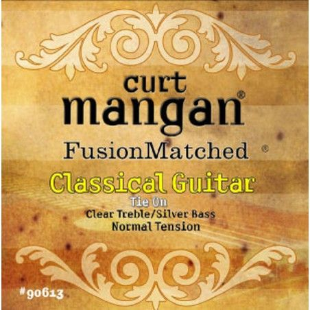 Curt Mangan Classical Clear/Silver Normal Tension - Set Corzi Chitara Clasica Curt Mangan - 1