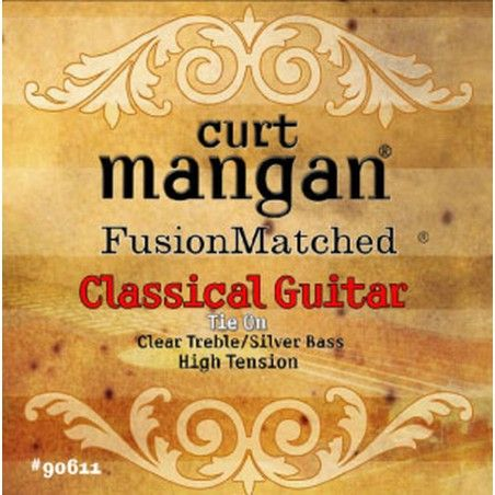 Curt Mangan Classical Clear/Silver High tension - Set Corzi Chitara Clasica Curt Mangan - 1