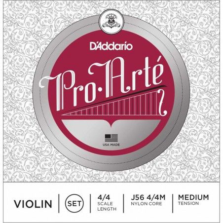 D'Addario Pro-Arte 4/4 Medium Tension - Set Corzi Vioara D'Addario - 1