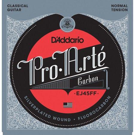 D'Addario EJ45FF Pro-Arte Carbon Normal Tension - Set Corzi Chitara Clasica D'Addario - 1