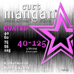 Curt Mangan Nickel Light Coated - Set 5 Corzi Chitara Bass 40-125 Curt Mangan - 1