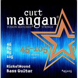 Curt Mangan Nickel Wound - Set 4 Corzi Chitara Bas 45-105 Curt Mangan - 1