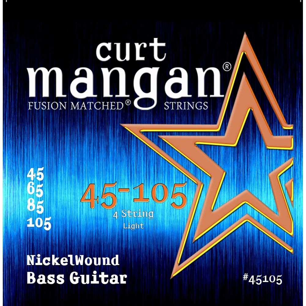 Curt Mangan Nickel Wound -...