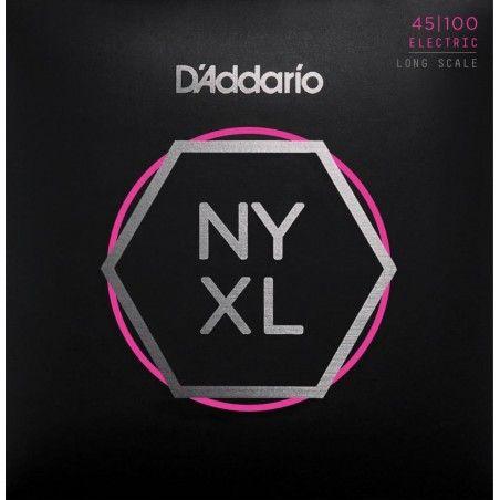 D'Addario NYXL45100 - Set 4 Corzi Chitara Bass 45-100 D'Addario - 1