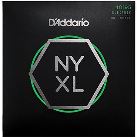 D'Addario NYXL4095 - Set 4 Corzi Chitara Bass 40-95 D'Addario - 1