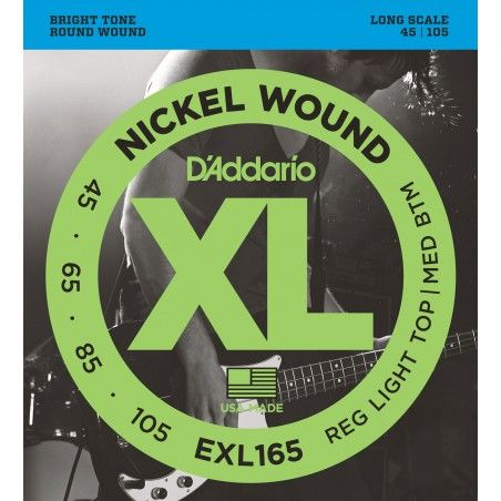 D'Addario EXL165 Long Scale...