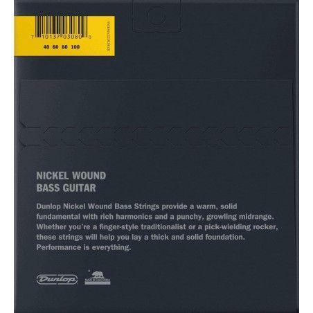 Dunlop DBN40100 - Set 4 Corzi Chitara Bass 40-100 Dunlop - 2