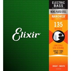 Elixir Nanoweb El Bass 5'th...