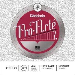 D'Addario J59 Medium Tension - Corzi violoncel 4/4 D'Addario - 1