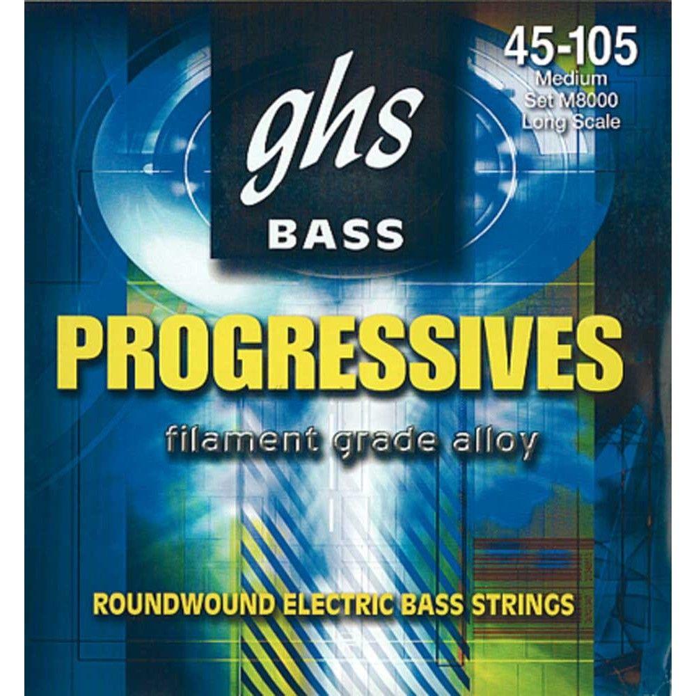 GHS M8000 - Set Corzi Chitara Bass 45-105 GHS - 1