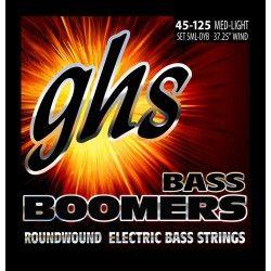 GHS 5ML-DYB - Set Corzi Chitara Bass 45-125 GHS - 1