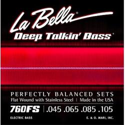 La Bella 760FS Stainless - Set Corzi Chitara Bass 45-105 La Bella - 1