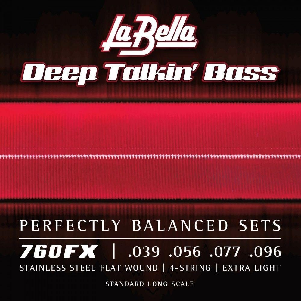 La Bella 760FX Stainless - Set Corzi Chitara Bas  39-96 La Bella - 1