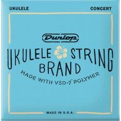 Dunlop DUQ302 Concert-4 - Set Corzi Ukulele Concert Dunlop - 1