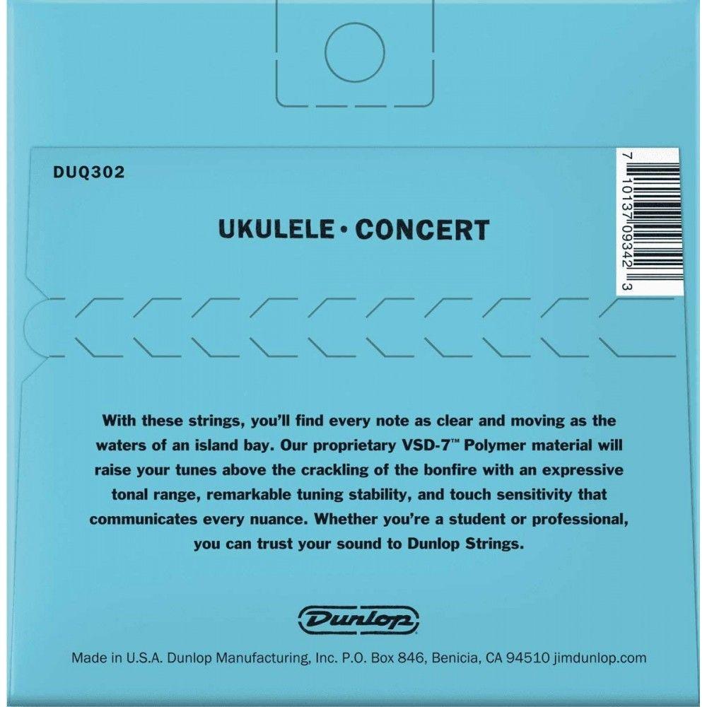 Dunlop DUQ302 Concert-4 -...