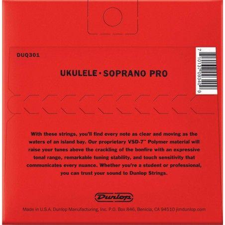 Dunlop DUQ301 Pro-4 Soprano - Set Corzi Ukulele Dunlop - 1