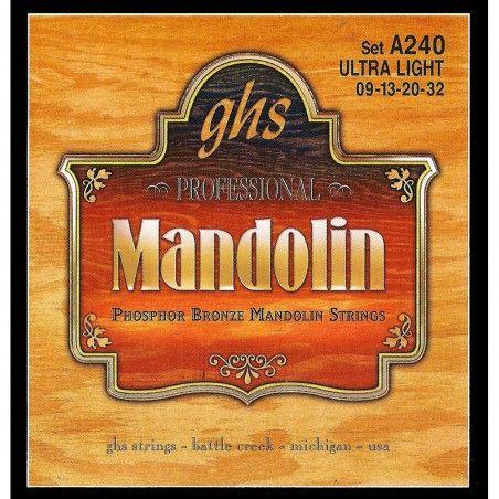 GHS A240 - Set Corzi Mandolina 09-32 GHS - 1