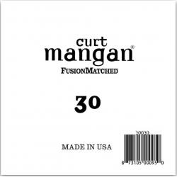 Curt Mangan Nickel Bass Coated Single 30 - Coarda Chitara Bass Curt Mangan - 1